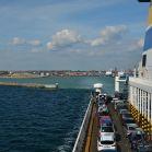 Hafenausfahrt Trelleborg