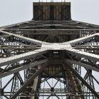 Ein Seilbahn Turm