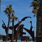 Skulptur zur Olympiade von 1992