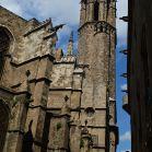 Turm von der Kathedrale von Barcelona