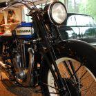 Altes Husqvarna Motorrad