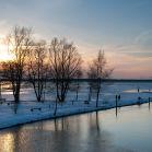 Sonnenuntergang am Lenzer See